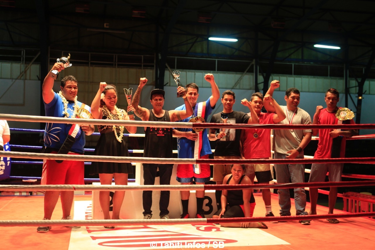 Les boxeurs de l'Ah Min Boxing Club s'imposent par équipe