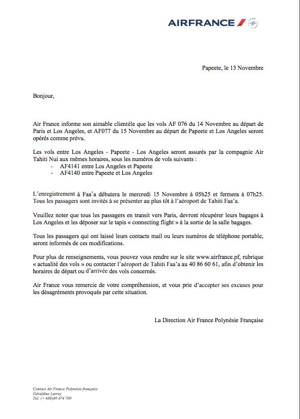 Grève chez Air France: les vols du 14 et du 15 novembre seront assurés