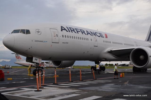 Grève : Deux vols Air France assurés par la compagnie HIFLY