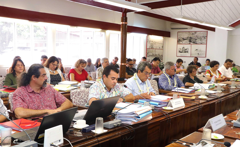 La commission de l'Economie et des Finances de l'Assemblée PF examine le Fonds de prévention sanitaire et social