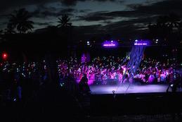 Tahiti Glow Party : 1500 personnes ont couru en lumière