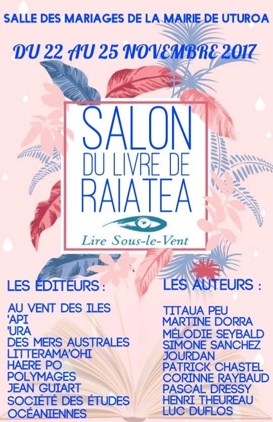Livres : la fête continue à Raiatea-Taha'a