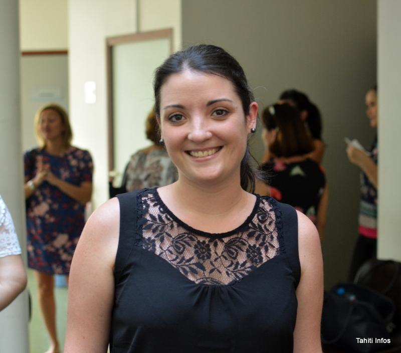 Mélanie Chable, chargée du recrutement et de la formation à ATN