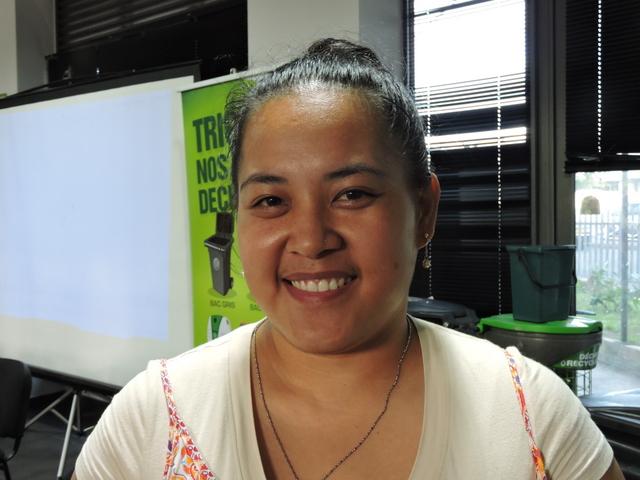 Stéphanie, 29 ans, participe au défi.