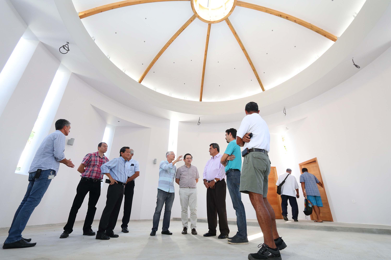 Hôpital du Taaone : la chapelle œcuménique Te Aroha livrée mi-décembre