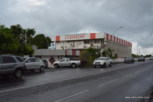 Grève effective à la Dépêche et à la Cuisine centrale de Papeete