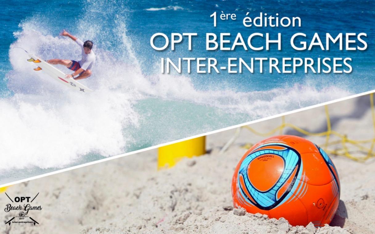 Beach Soccer/Surf - OPT Beach Games 2017 : Une compétition inter-entreprises