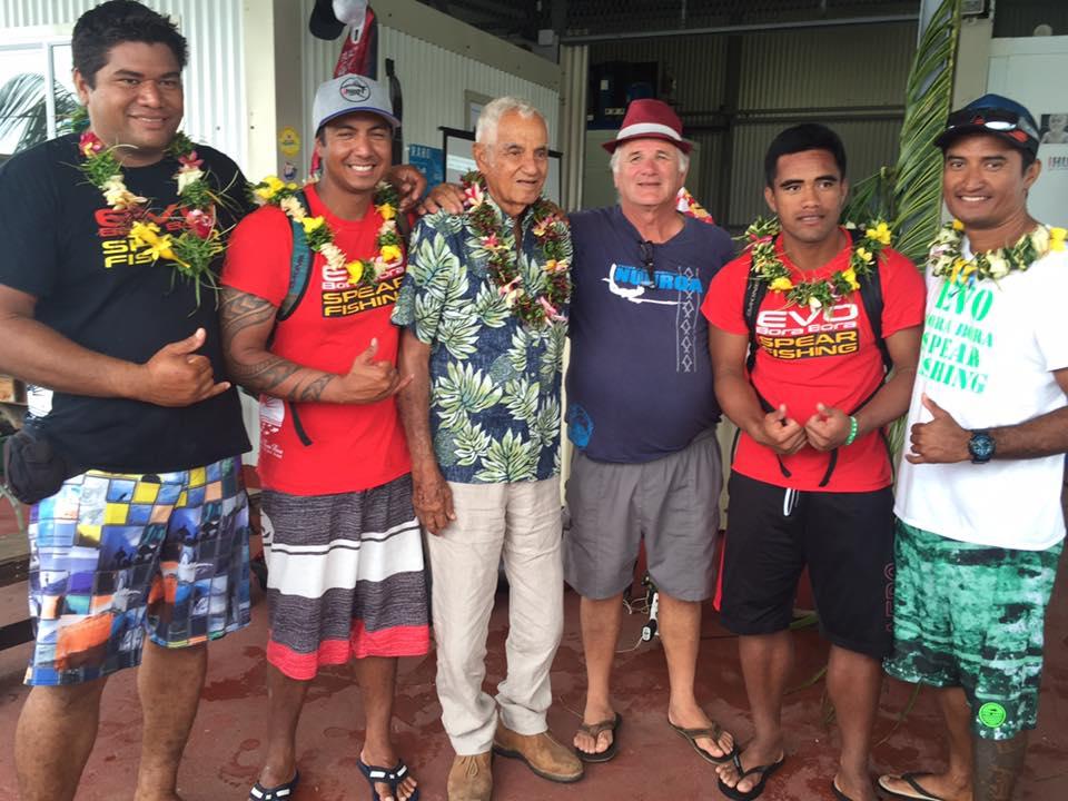 Jean Tapu et les pêcheurs de Bora Bora