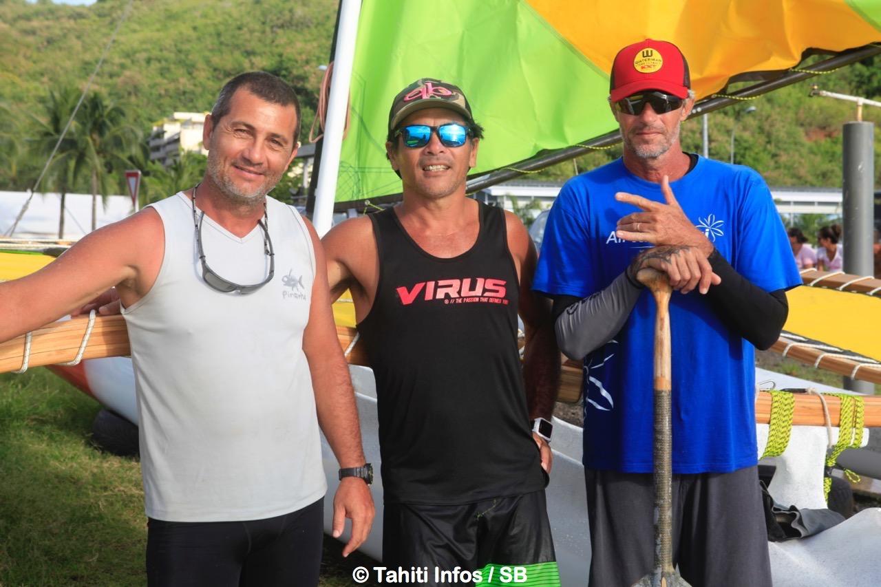 Fred Deruelle, Thierry Tching et Stéphane Lambert