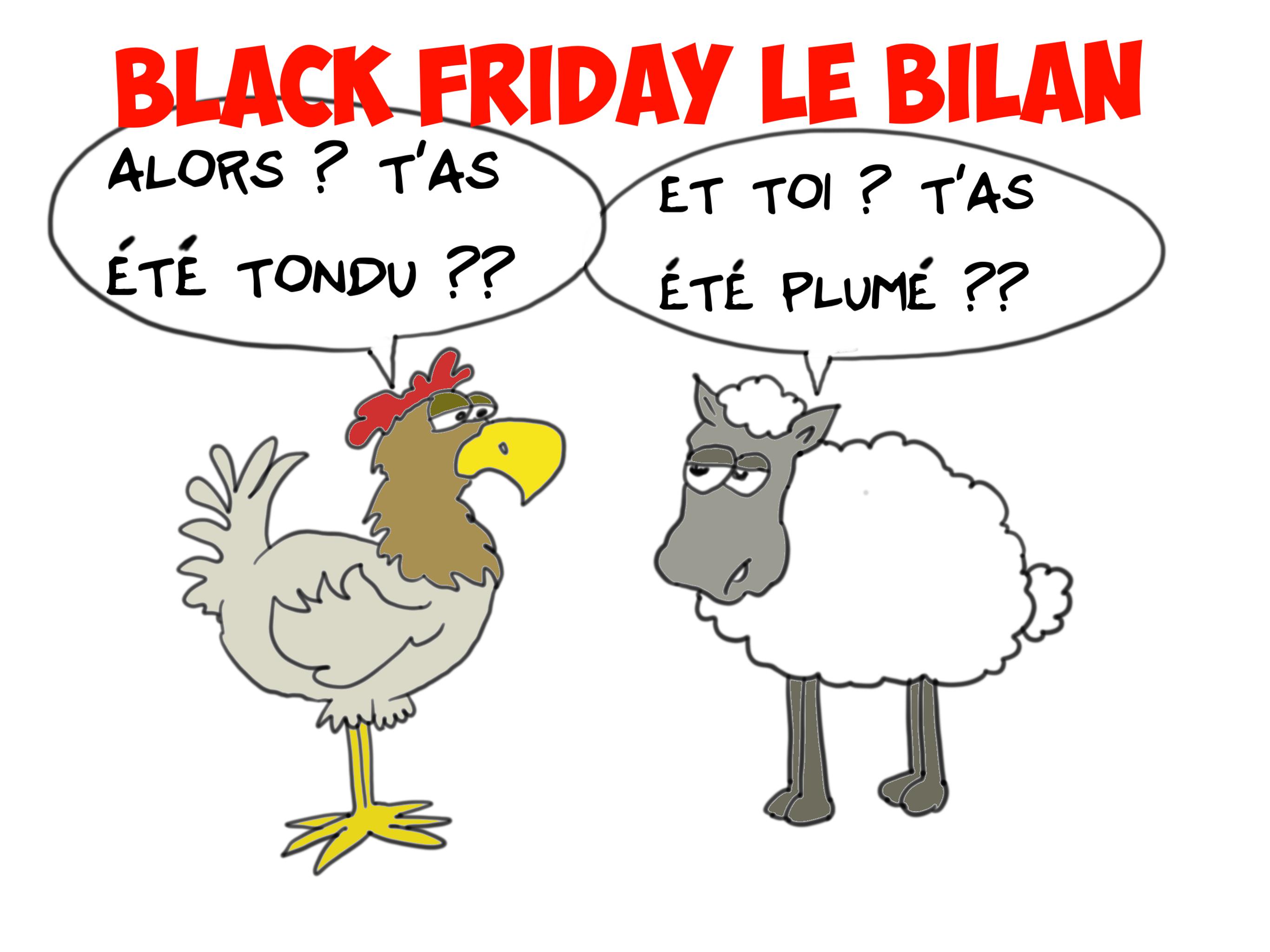 """"""" Le Black Friday """" vu par Munoz"""