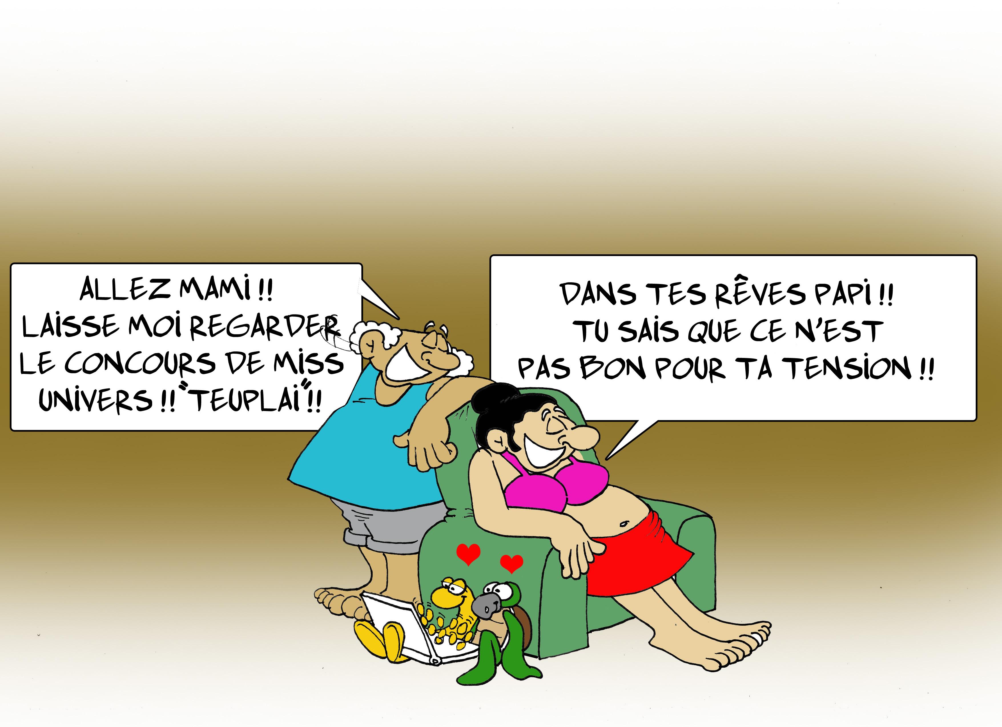 """"""" Miss Univers """" par Munoz"""