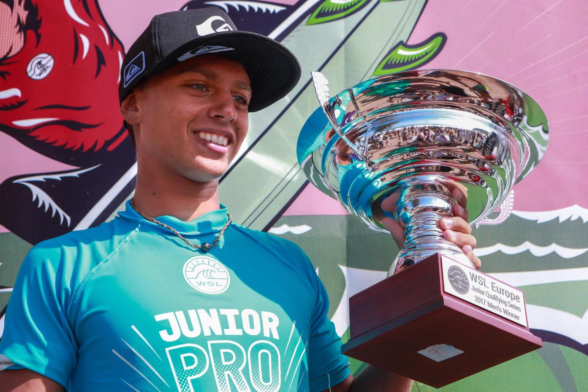 Champion d'Europe junior WSL cette année