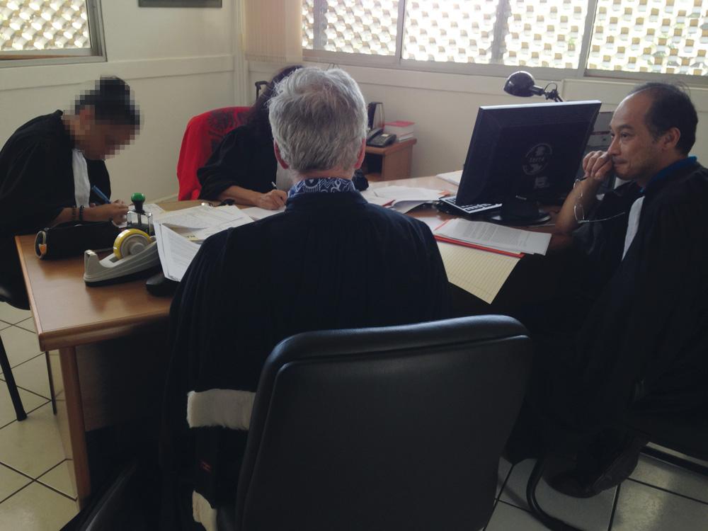 Le blocage de la cuisine centrale de Papeete devant le juge des référés