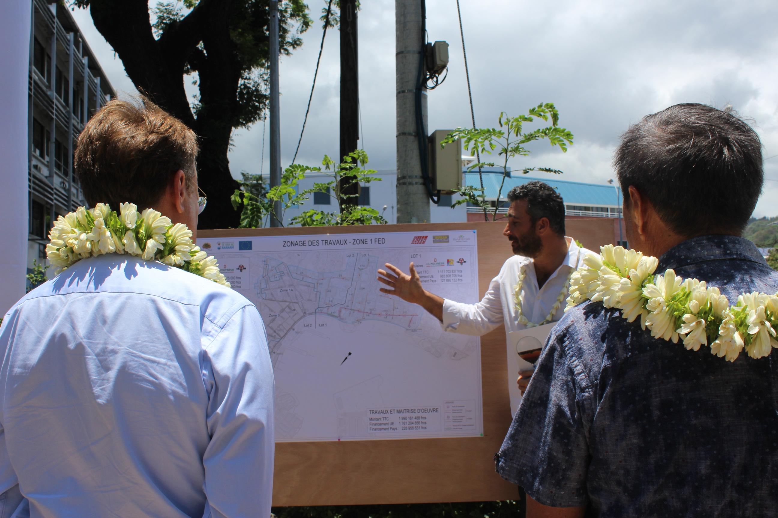 L'assainissement de la ville de Papeete se poursuit
