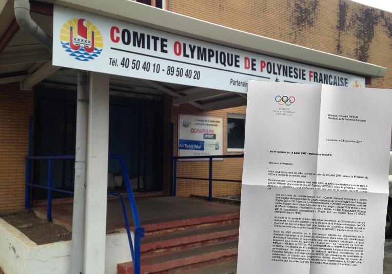 Jeux olympiques : le fenua reste sous l'égide de la France