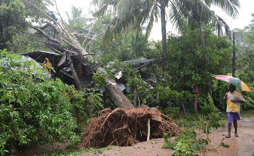 Inde/Sri Lanka: 16 morts, une centaine de disparus dans un cyclone