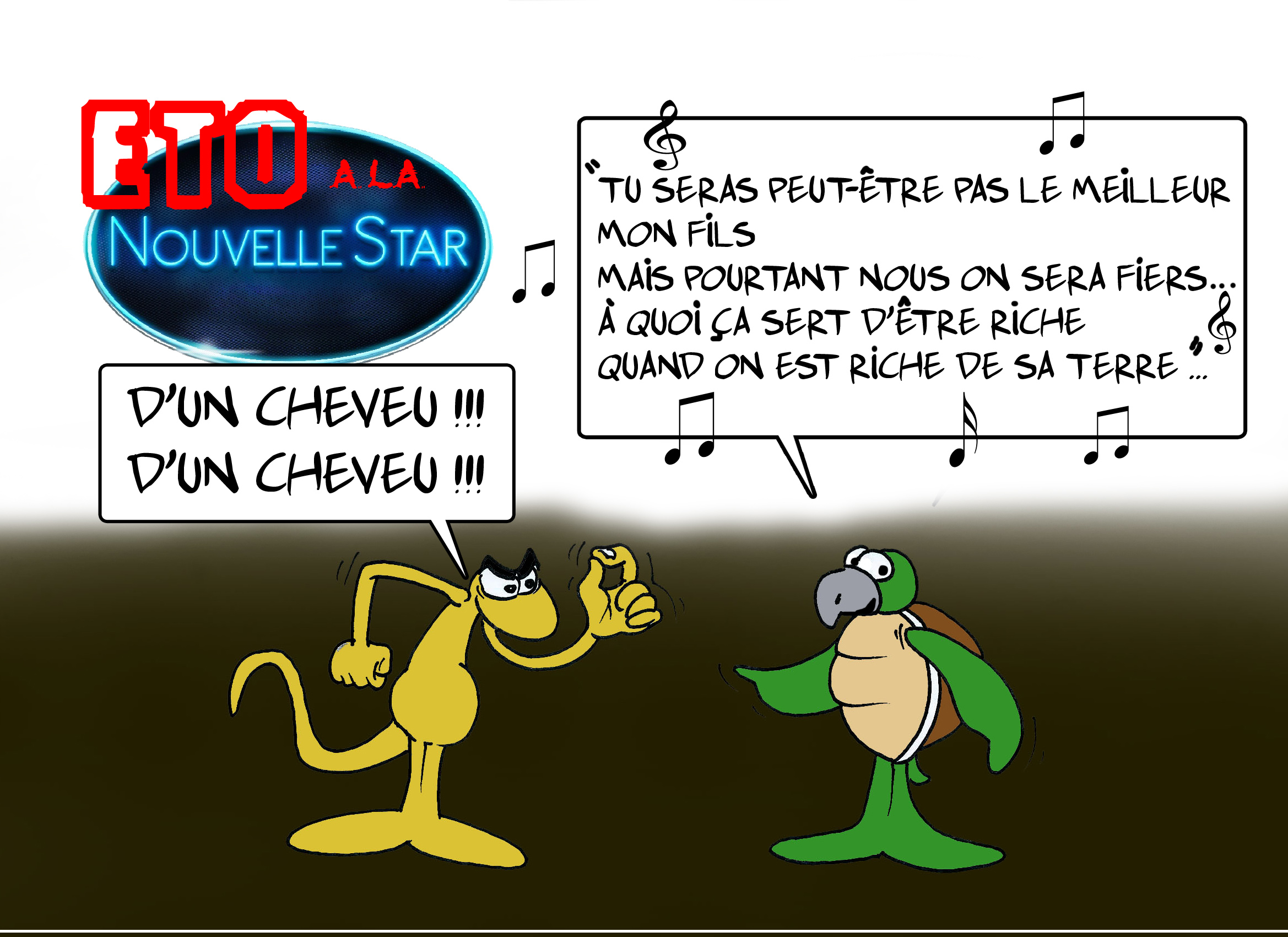 """"""" Eto à la Nouvelle Star """" par Munoz"""