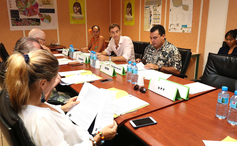 Le conseil d'administration de l'ISPF s'est réuni ce vendredi