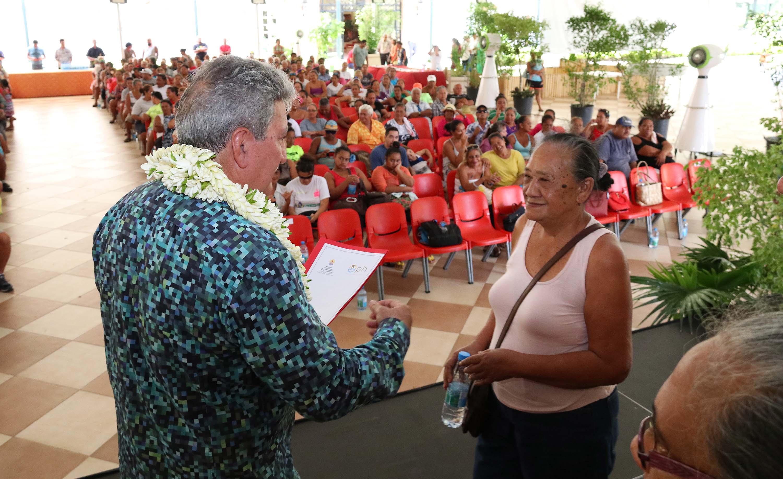 Douze familles ont également reçu les clés de leur fare OPH.