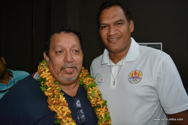 """""""J'ai besoin aussi de toi, Tauhiti"""", le nouveau président du COPF veut travailler avec toutes les forces vives du monde sportif polynésien."""