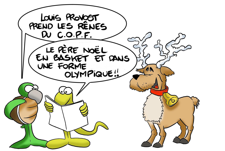 """"""" Louis Provost prend les rênes du COPF """" par Munoz"""