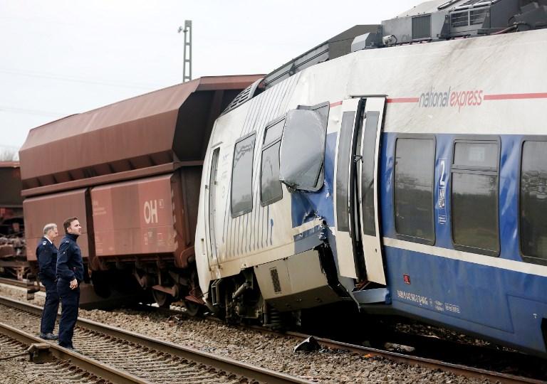Allemagne: 41 blessés dans la collision entre deux trains
