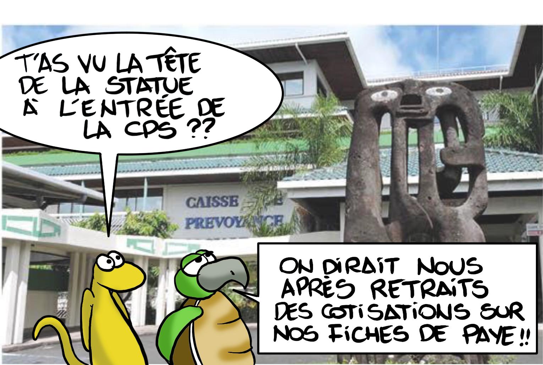""""""" Hausse des cotisations """" vu par Munoz"""
