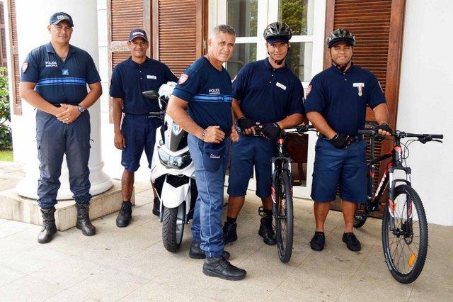 En plus de l'effectif de la police municipale qui a été renforcé, de nouveaux moyens de transport complètent le parc de la PM.