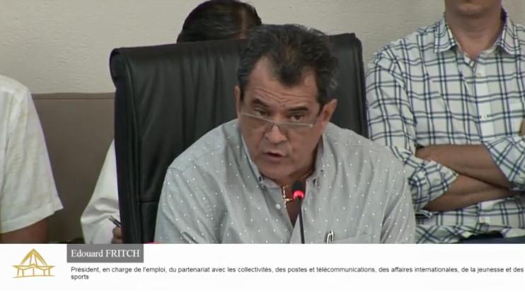 Budget général 2018 de la Polynésie française : le discours d'Edouard Fritch