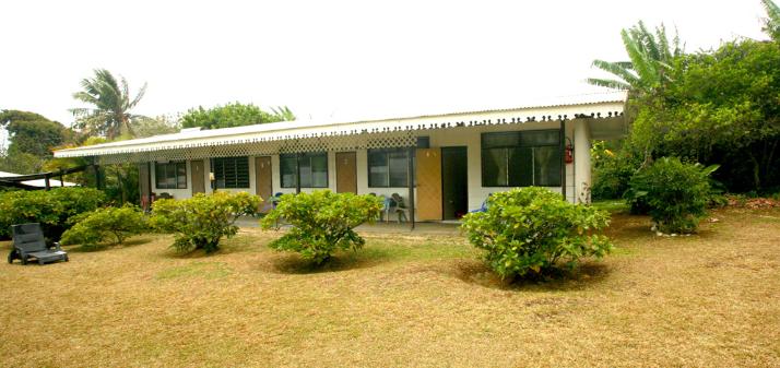 La pension Taitaa offre déjà trois chambres, bientôt cinq.