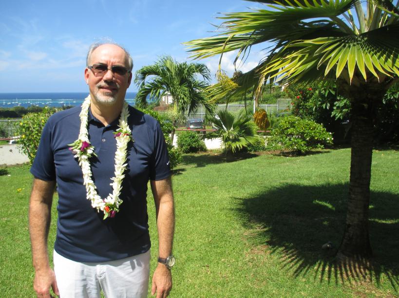 """"""" Je suis certain qu'ici il y a  des valeurs qu'on pourrait exporter à travers le monde. Les Polynésiens sont des gens très créatifs et d'une grande générosité"""", souligne Philippe Turp, président de PolyHub Montréal."""