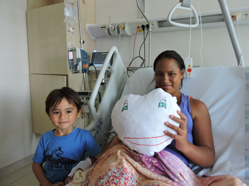Nape Ora offre du matériel vidéo pour les enfants hospitalisés