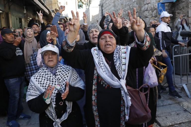 Décision Trump sur Jérusalem: manifestations dans plusieurs pays