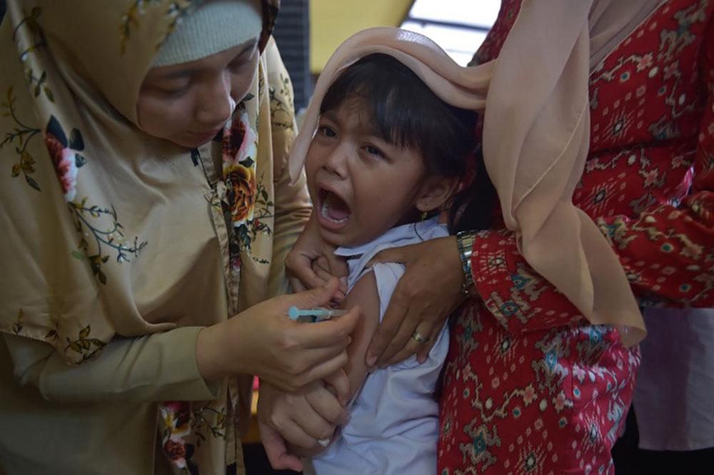 Epidémie de diphtérie en Indonésie: huit millions de vaccins