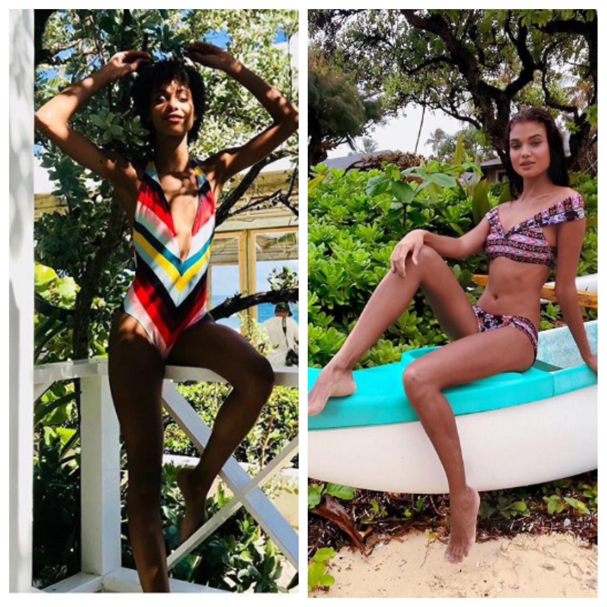 Les mannequins de Victoria's Secret rêvent de vacances à Bora Bora