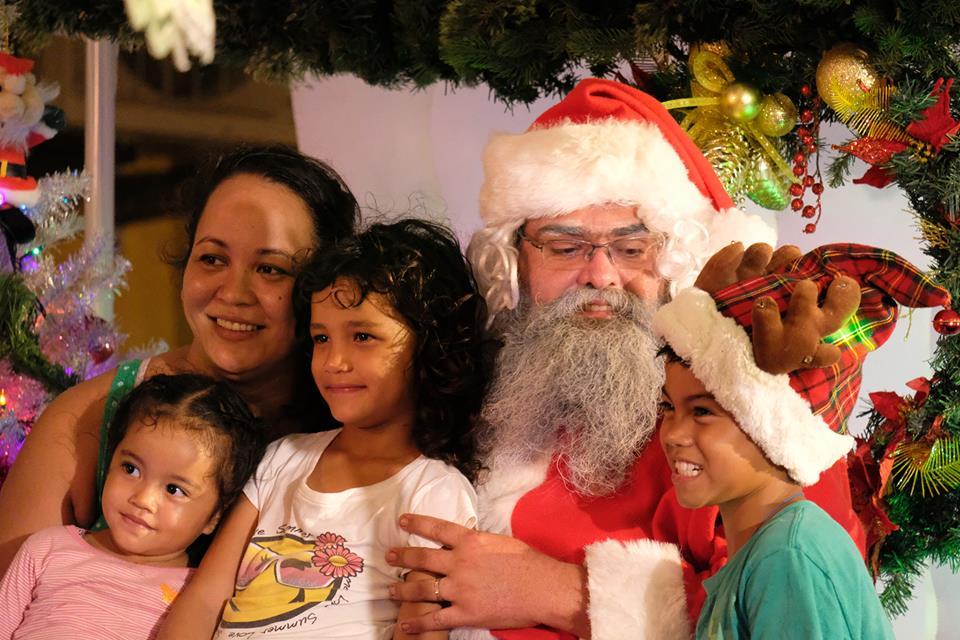 Les enfants pourront faire des photos souvenirs avec le père Noël.