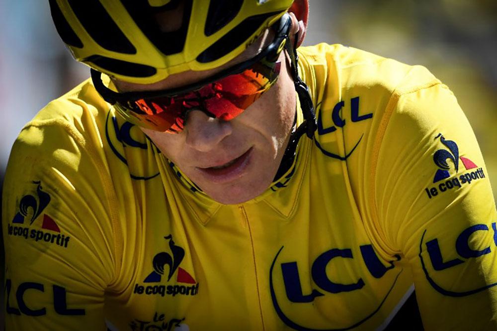Cyclisme - Chris Froome confronté à une affaire de dopage