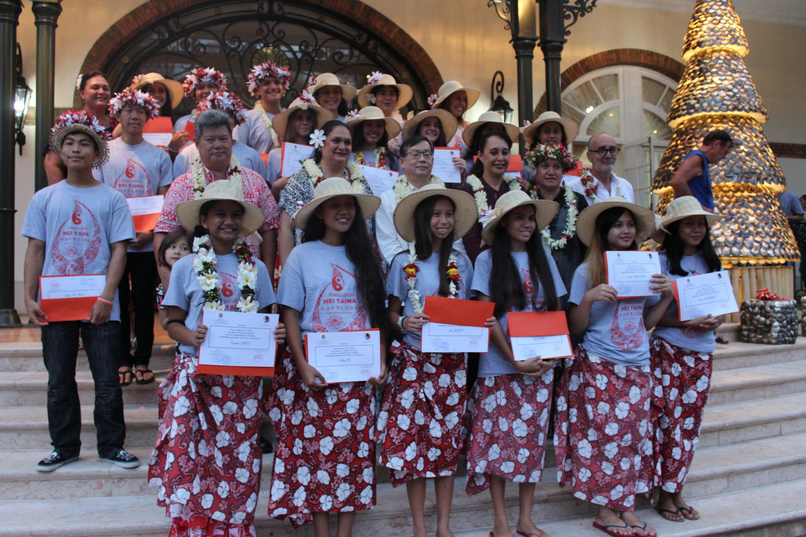 Les lycéens boursiers vont partir au lycée international de Wenling vendredi 15 décembre.