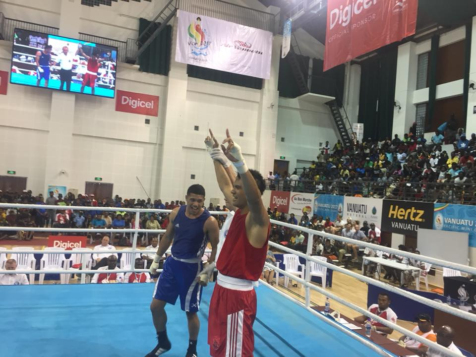 Boxe – Mini Jeux Vanuatu : Médailles assurées pour Neuffer, Atiu et Jubely