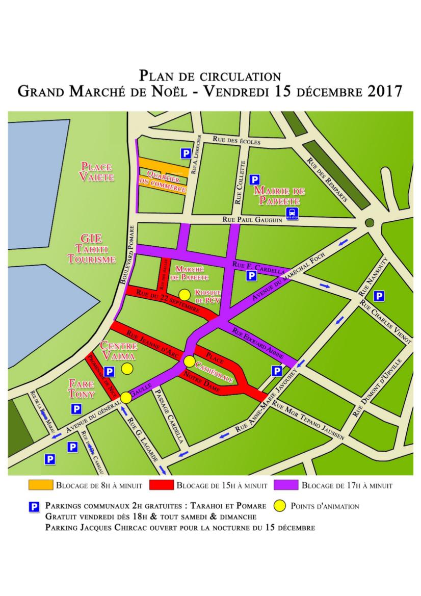 Le Grand Marché de Noël de Papeete reporté aux 21 et 22 Décembre
