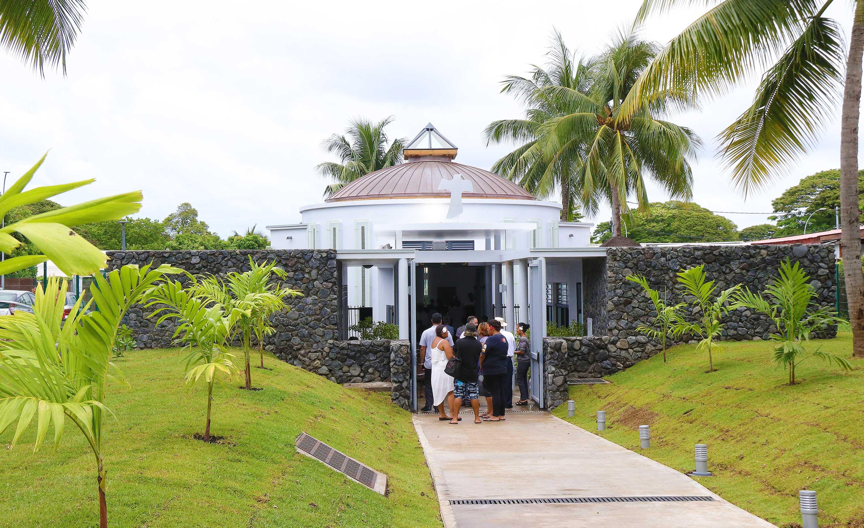 La chapelle Oecuménique du CHPF enfin ouverte