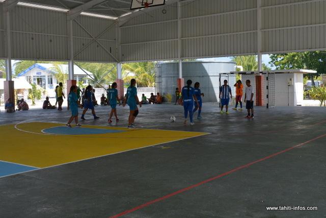 Dans la discipline futsal, les délégations de Makemo et Arutua décrochent les médailles d'or.