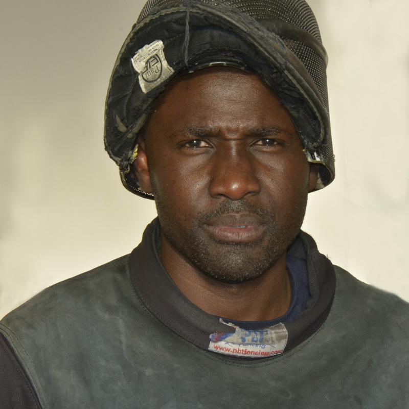 Respect, combativité, la persévérance font partie des vertus de l'escrime, selon le maître d'armes Coumba Ndofféne Ndiaye.