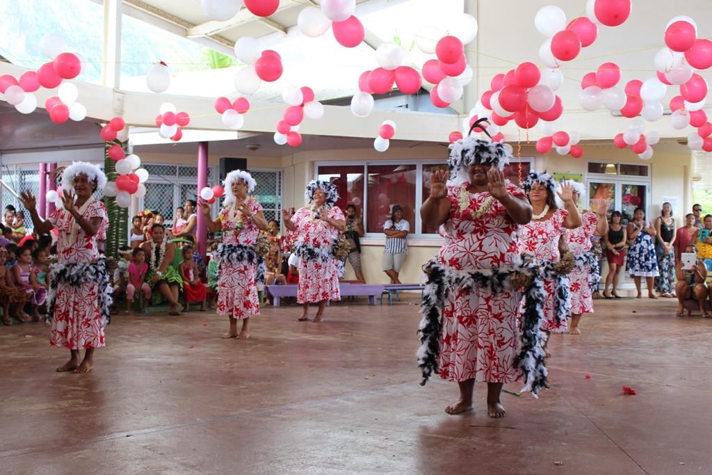 Des spectacles de danse ponctuaient ces journées (crédit : commune de Bora Bora).