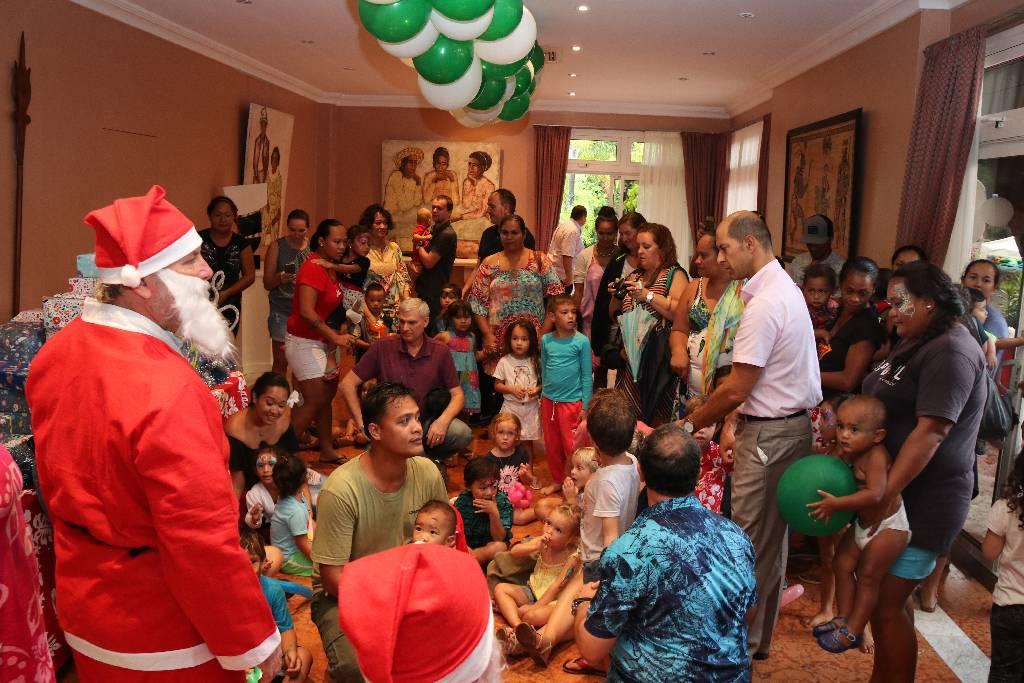 Plus de 600 enfants ont célébré Noël au Haut-commissariat