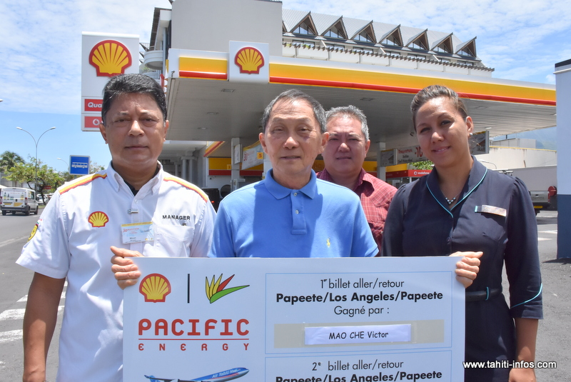 Jeu Shell-Pacific : Victor ira en Amérique avec sa femme et ses petits-enfants
