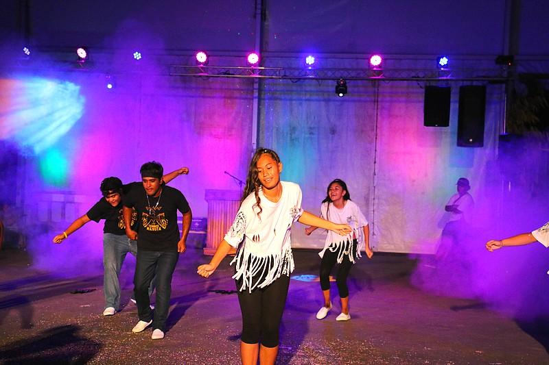 Le groupe Jeunesse Faa'a a démontré que les habitants de Faa'a sont de très bons danseurs.