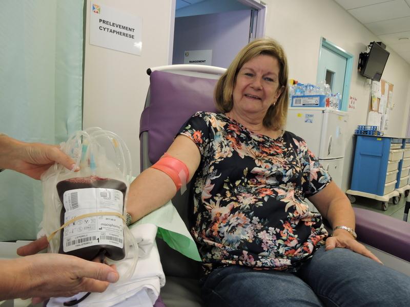 Le centre de transfusion sanguine est ouvert du lundi au vendredi.