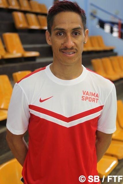 Jacob Tutavae, président de l'As Tahiti Futsal