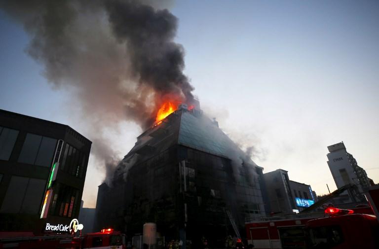 Corée du Sud: 29 morts dans l'incendie d'un immeuble